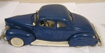 Vintage Built Up AMT 1940S Coupe Hot Rod Chevy Ford Model Kit